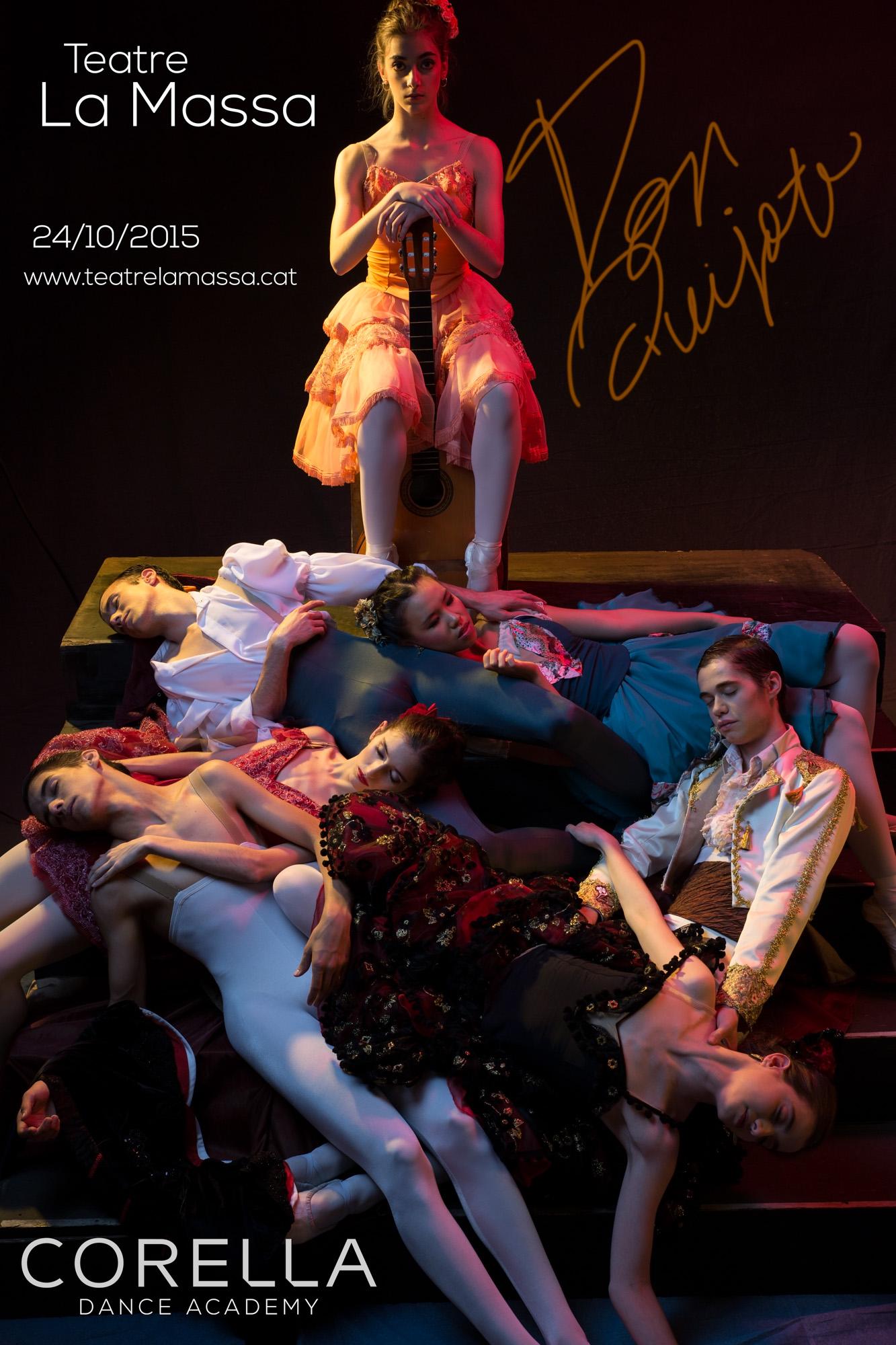 Don Quijote en el teatro La Massa!!!