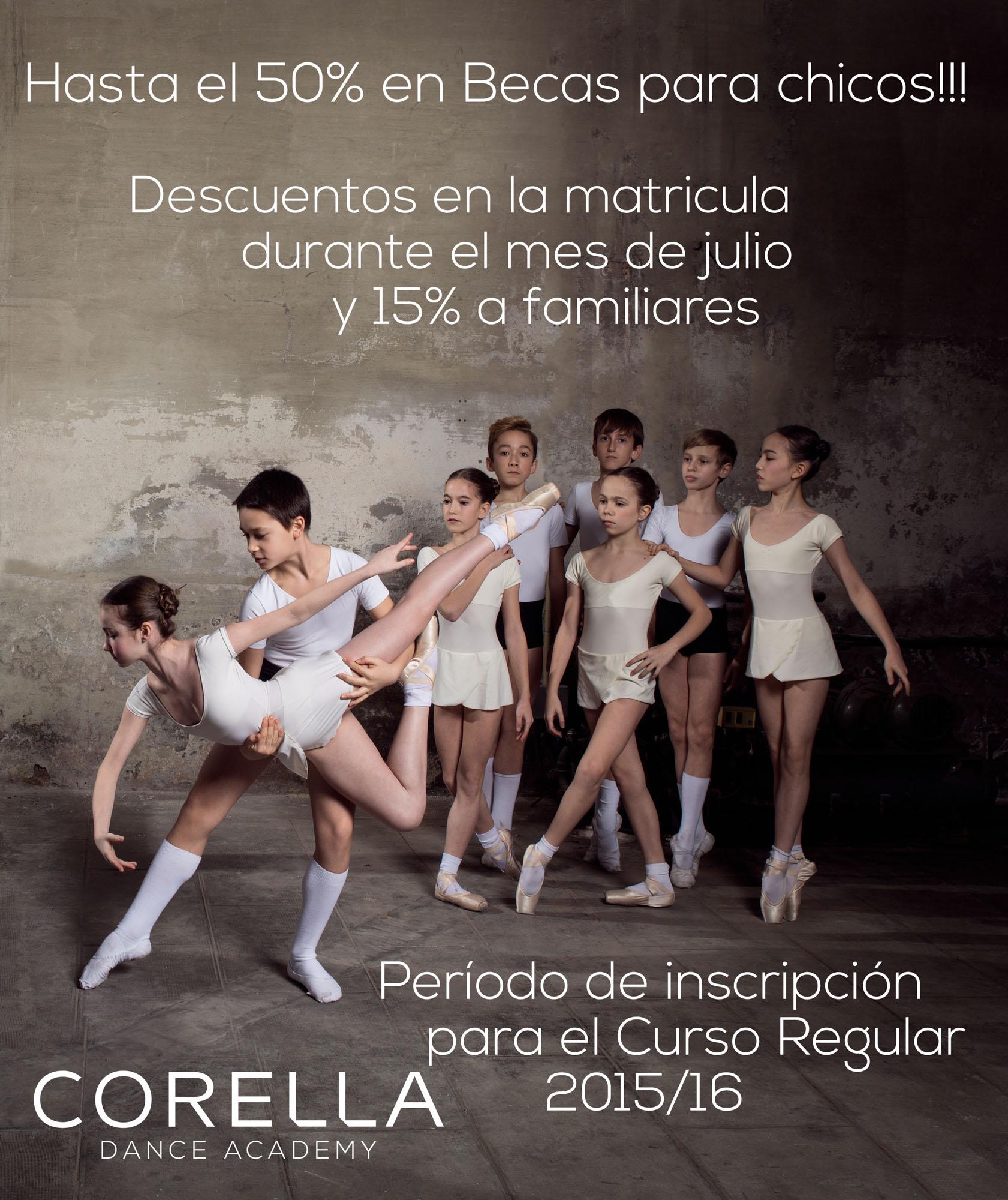 Becas y promociones 2015/16